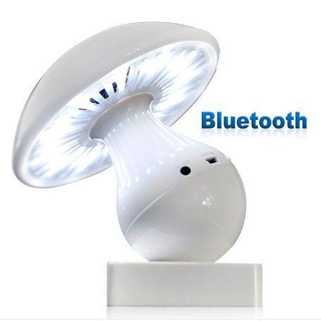Bluetooth Lamp Mini Speaker with Radio Entalent - 1