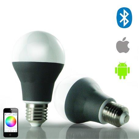 Lampa LED RGBW ze sterowaniem Bluetooth NF-BTBA-RGBW Newfly - 4