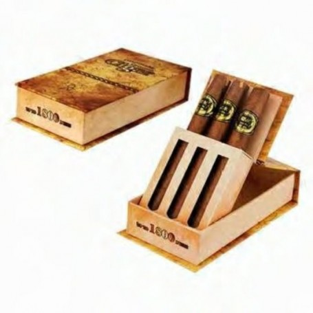 1800 Puffs Disposable e-Cigar 3-pack Cuban Flavor Ismoke - 1