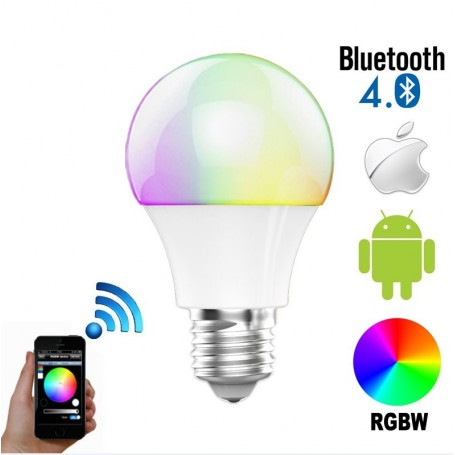 Lampe LED RGBW à Commande Bluetooth Newfly - 1