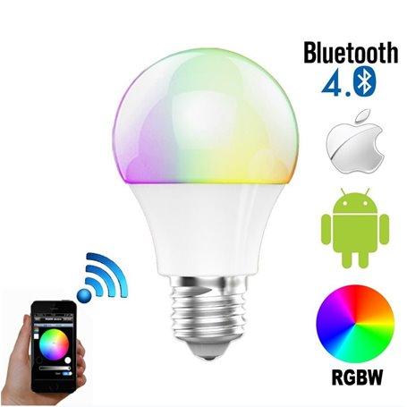 RGBW LED Lampe mit Bluetooth Steuerung NF-BTBC-RGBW Newfly - 1