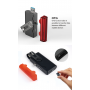 Bateria externa portátil 2600 mAh e chave USB OTG Sinobangoo - 4
