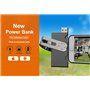Draagbare externe batterij 2600 mAh en USB OTG-sleutel Sinobangoo - 5