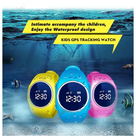 Personal GPS Watch for Kids Q52 Cessbo - 1