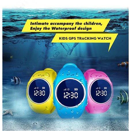 Relógio de pulseira GPS para crianças Q52 Cessbo - 1