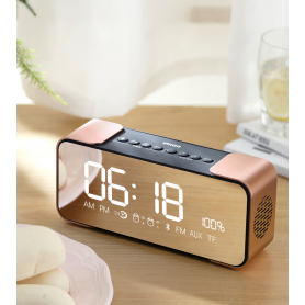 Bluetooth Speaker FM-Radio Clock