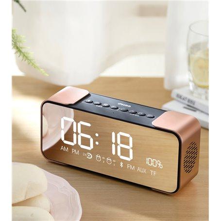 Mini Haut-Parleur Bluetooth Radio-FM Réveil