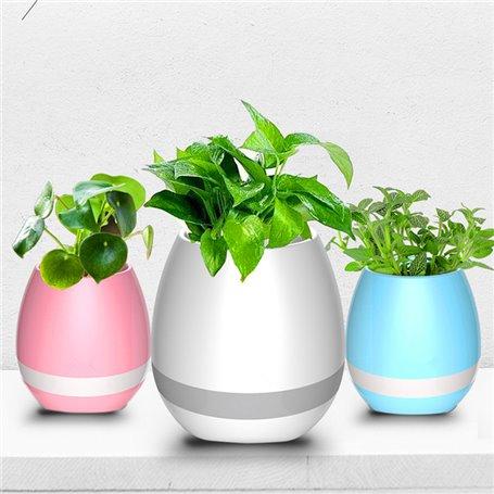 Mini Haut-Parleur Bluetooth Pot de Fleur Musical