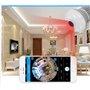Lampe LED avec Caméra Espion HD Wifi à Vision Panoramique Résolution HD 1280x720p