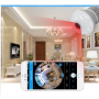 WiFi HD 1280x720p Smart Hidden Camera in a White Light LED Light Bulb