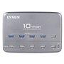 Station de Recharge Intelligente 10 Ports USB 60 Watts et Hub USB
