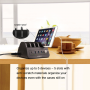 Station de Recharge Intelligente 5 Ports USB 60 Watts et Hub USB et Dock
