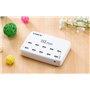 Slim laadstation 10 USB-poorten 60 watt LS-10UQ Lvsun - 1