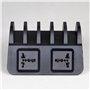 Estación de carga inteligente 10 puertos USB 120 vatios CS52-HUB Lvsun - 5