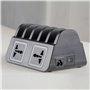Estación de carga inteligente 10 puertos USB 120 vatios CS52-HUB Lvsun - 7