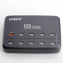 Station de Recharge Intelligente 10 Ports USB 60 Watts