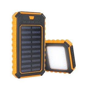 Batterie Externe Portable 10000 mAh avec Chargeur Solaire