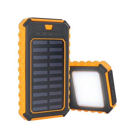 10000 mAh Solar Charger Power Bank