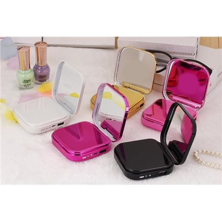 Batterie Externe Portable 6000 mAh Design Modern Lady Mirror