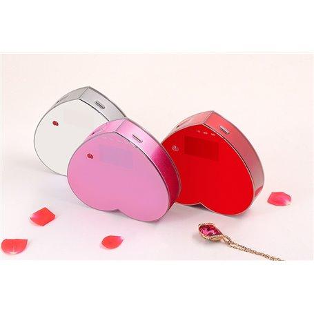 Batería Externa Portátil 8000 mAh Diseño Corazón Domars - 1