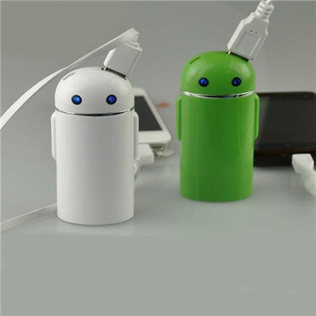 Batterie Externe Portable 5000 mAh Design Android
