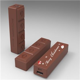 Chocolate Shape Power Bank 2600 mAh