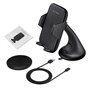 Supporto regolabile e caricabatterie wireless compatibile Qi Sinobangoo - 4