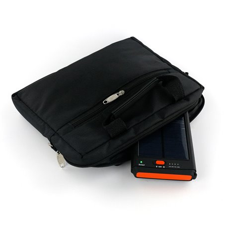 Bateria externa portátil de 11200 mAh com carregador solar Sinobangoo - 1