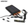 Bateria externa portátil de 11200 mAh com carregador solar Sinobangoo - 6