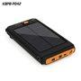Bateria externa portátil de 11200 mAh com carregador solar Sinobangoo - 9