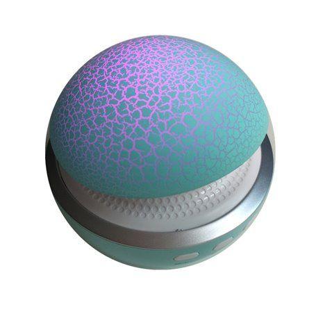 Mini alto-falante Bluetooth e lâmpada LED de design de cogumelo BT680 Favorever - 1