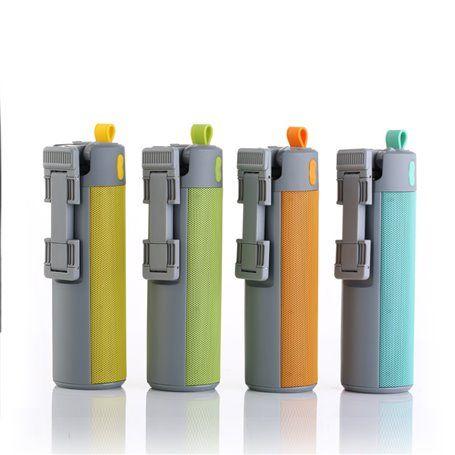 Selfie Stick et Mini Haut-Parleur Bluetooth et Batterie Externe Portable 2000 mAh