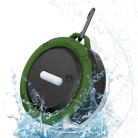 Mini Wireless Waterproof Bluetooth Speaker with Suction Cup Favorever - 1