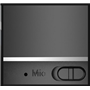 Reflective LED Light Metal Round Shape Bluetooth Speaker Favorever - 11
