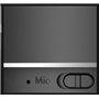 Mini alto-falante Bluetooth com design escovado em metal com luz LED reflexiva A10 Favorever - 11