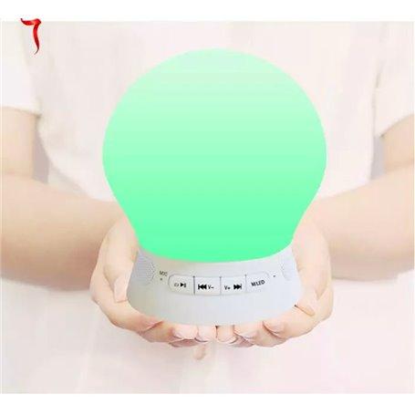 Mini Haut-Parleur Bluetooth et Lampe LED BL08 Favorever - 1