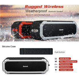 Mini Haut-Parleur Bluetooth Stéréo et Waterproof pour Sport et Outdoor