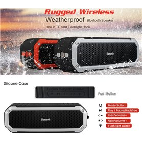 Mini Wireless Waterproof Bluetooth Speaker for Sport and Outdoor