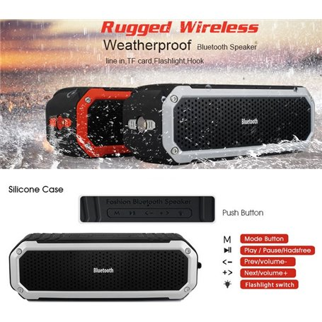 Mini Haut-Parleur Bluetooth Stéréo et Waterproof pour Sport et Outdoor C28 Favorever - 1