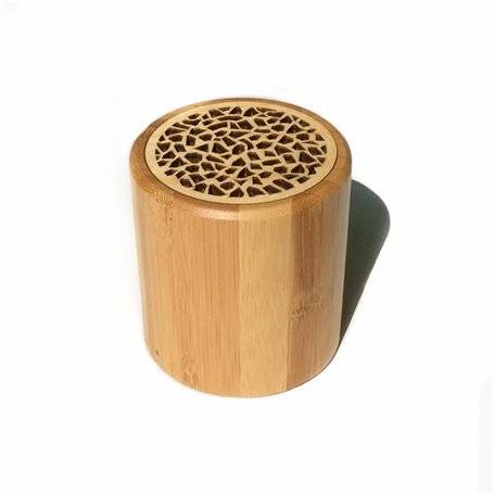 Mini Haut-Parleur Bluetooth Design Bamboo