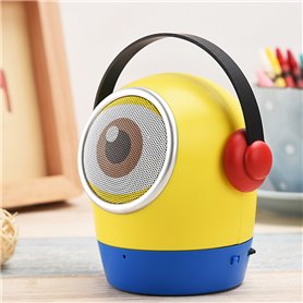 Cartoon Big Eye Bluetooth Speaker