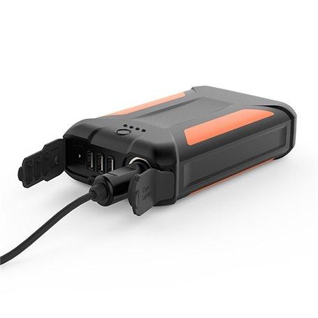 Przenośna zewnętrzna bateria 38000 mAh z latarką Doca - 1