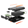 38000 mAh draagbare externe batterij met zaklamp Doca - 4