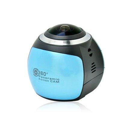 Caméra Full HD Panoramique 360 et Waterproof pour Sports Extrêmes