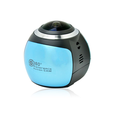 Full HD Panoramic 360 Action Camera