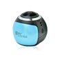 360 ° en waterdichte panoramische camera voor extreme sporten Full HD 1920x1080p Zhisheng Electronics - 1