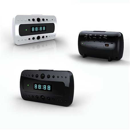 Réveil avec Caméra Espion Wifi Full HD 1920x1080p Zhisheng Electronics - 1