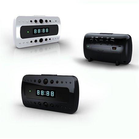 Réveil avec Caméra Espion Wifi Full HD 1920x1080p