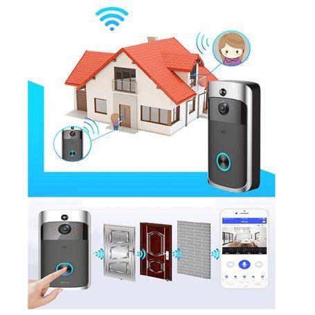 Video Tür Eingang Kamera Tür Eingang Plug and Play Wifi HD 1280 ... Zhisheng Electronics - 1