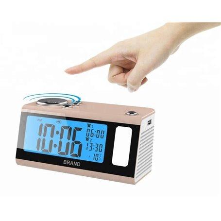 Mini altavoz Bluetooth con reloj despertador multifunción Favorever - 1